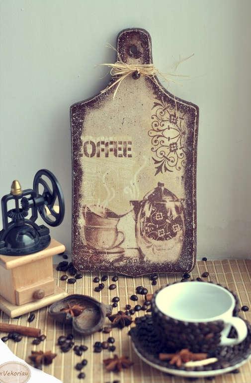 Декорування кавовими зернами - фото 22