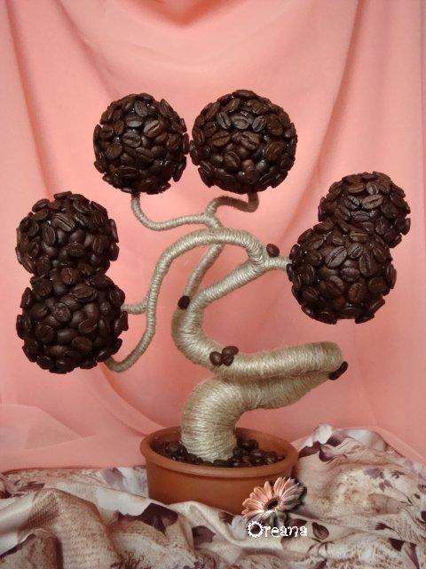 Декорування кавовими зернами - фото 24