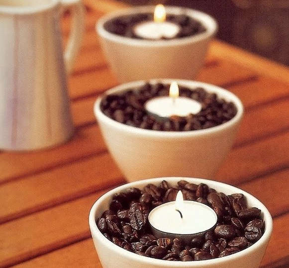 Декорування кавовими зернами - фото 11