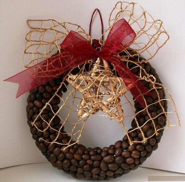 Декорування кавовими зернами - фото 12