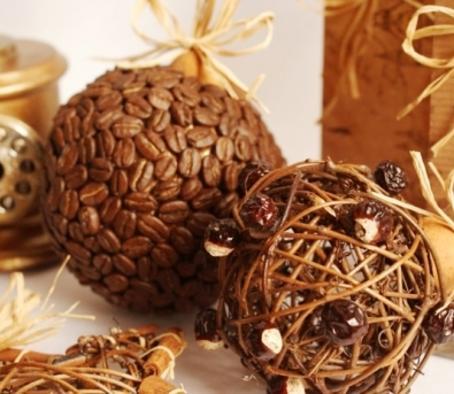 Декорування кавовими зернами - фото 13
