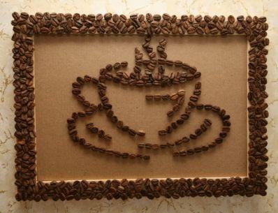Декорування кавовими зернами - фото 3