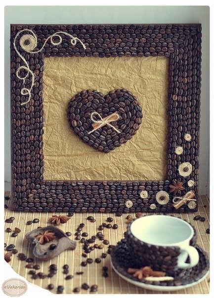 Декорування кавовими зернами - фото 21