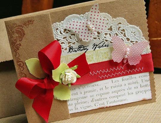 Handmade листівки своїми руками - фото 7