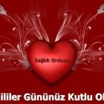 Привітання з днем Святого Валентина турецькою з перекладом