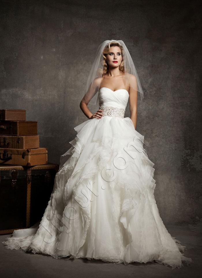 Весільні сукні 2013 - фото 12