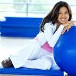 Як вибрати гімнастичний м'яч