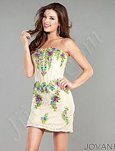 Короткі випускні сукні 2013