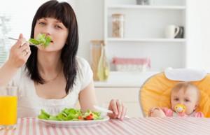 Приклад меню годуючої мами