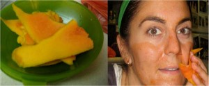 Маска для обличчя з папайї