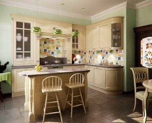 Чиста світла кухня