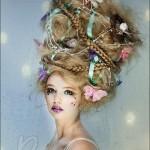 Зачіски на Хеллоуїн - фото 41