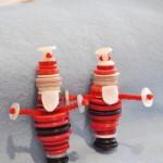 Новорічні іграшки з гудзиків - фото 4