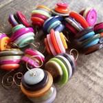 Новорічні іграшки з гудзиків - фото 9