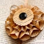 Новорічні іграшки зі старих книг - фото 2