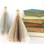 Новорічні іграшки з книжкових аркушів - фото 8
