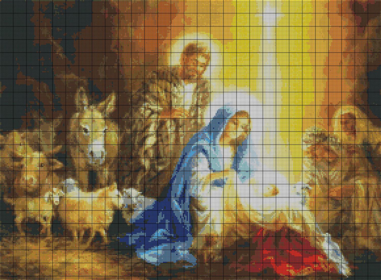 Різдвяні схеми вишивки - фото 3