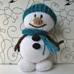 В'язані новорічні іграшки - фото 10