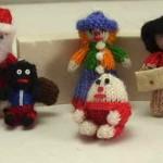 В'язані новорічні іграшки - фото 14