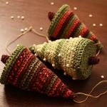 В'язані новорічні іграшки - фото 18