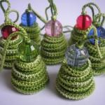 В'язані новорічні іграшки - фото 22