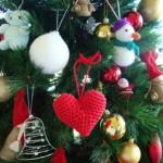В'язані новорічні іграшки - фото 25