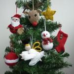 В'язані новорічні іграшки - фото 29