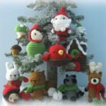 В'язані новорічні іграшки - фото 3