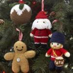 В'язані новорічні іграшки - фото 30