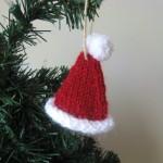 В'язані новорічні іграшки - фото 34