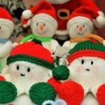 В'язані новорічні іграшки - фото 36