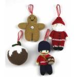 В'язані новорічні іграшки - фото 4