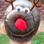 Новорічні зачіски - фото 17