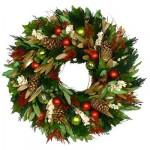 Різдвяні вінки - фото 24