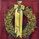 Різдвяні вінки - фото 36