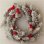 Різдвяні вінки - фото 41