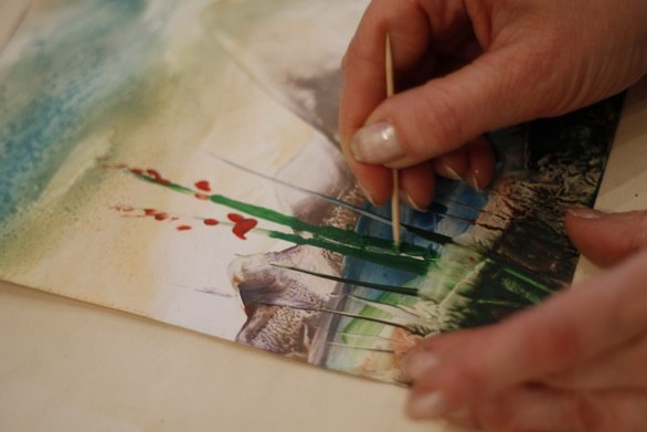 Малювання воском і праскою - фото 10