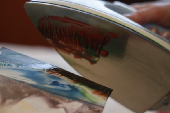 Малювання воском і праскою - фото 31