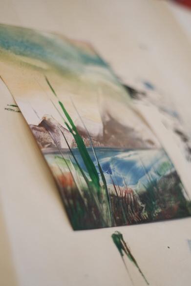 Малювання воском і праскою - фото 33