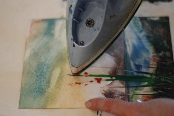 Малювання воском і праскою - фото 9