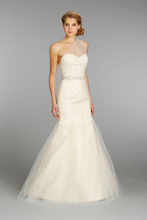 Весільні сукні 2014 - фото 16