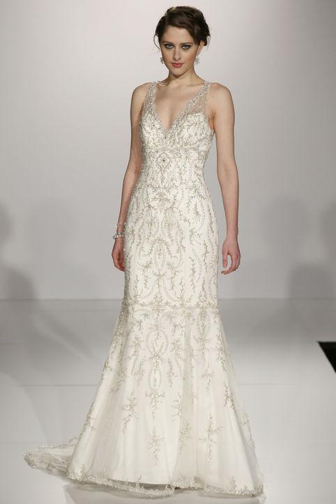 Весільні сукні 2014 - фото 24