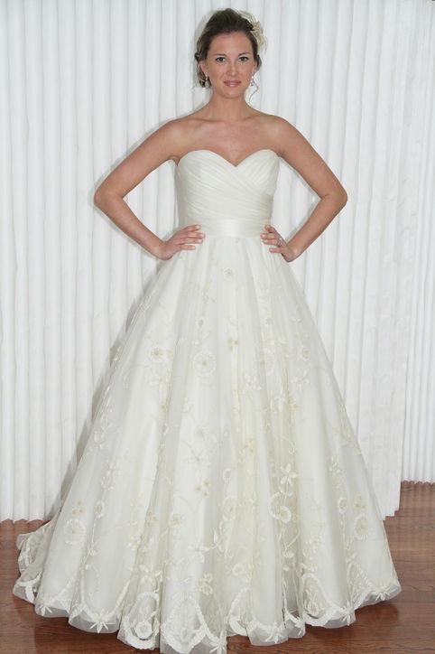 Весільні сукні 2014 - фото 25