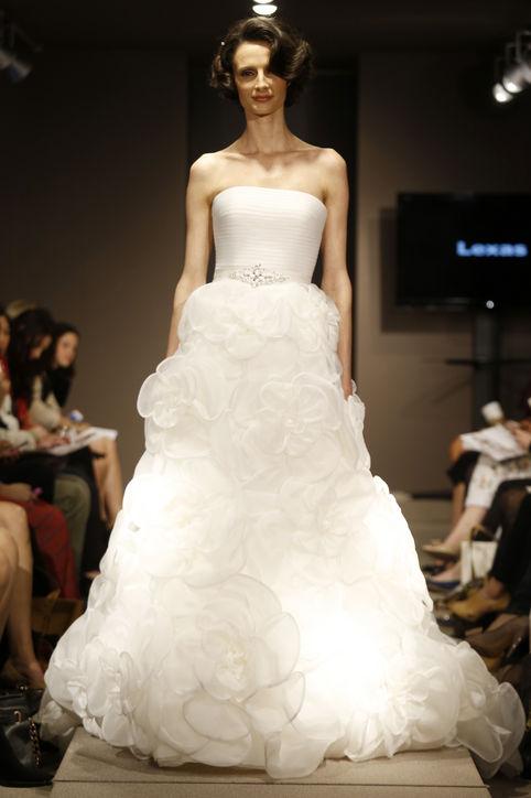 Весільні сукні 2014 - фото 31