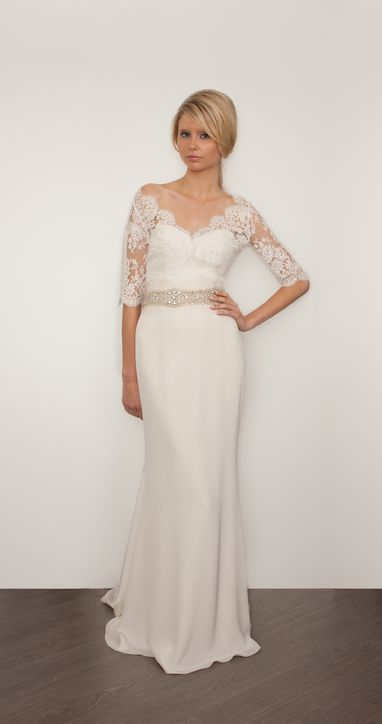 Весільні сукні 2014 - фото 35