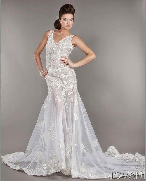Весільні сукні 2014 - фото 58