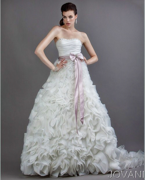 Весільні сукні 2014 - фото 61