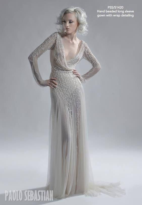 Весільні сукні 2014 - фото 71