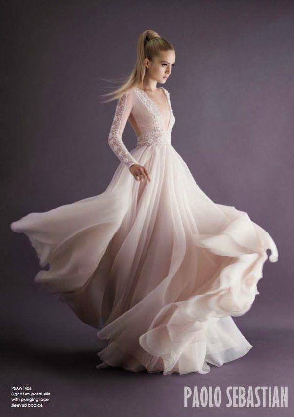 Весільні сукні 2014 - фото 73