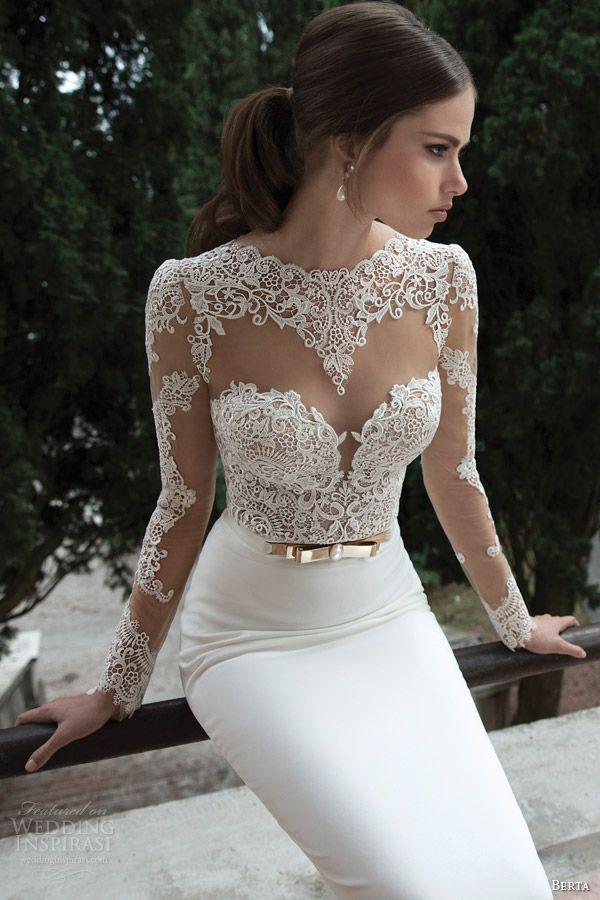 Весільні сукні 2014 - фото 75